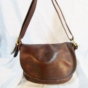 COACH 4150 Leather Duffel Crossbody Shoulder Bag
